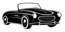 Retro Car. Vintage Car. Sport ...