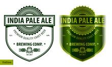 Beer Label Template In Modern ...