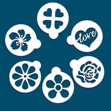 Love Stencils Cards. Hearts An...
