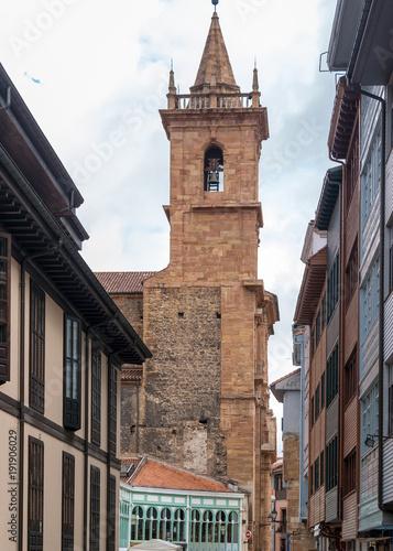 Fototapeta Historyczne centrum Oviedo