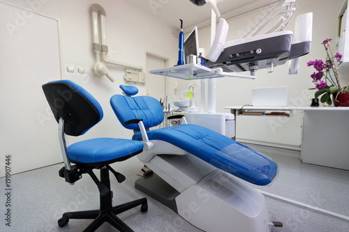 Cuadros en Lienzo Dental ordination with apparatus and equipment