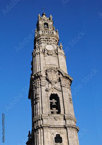 Plakat Wieża duchownych w Porto