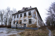 Old Neglected And Abandoned House