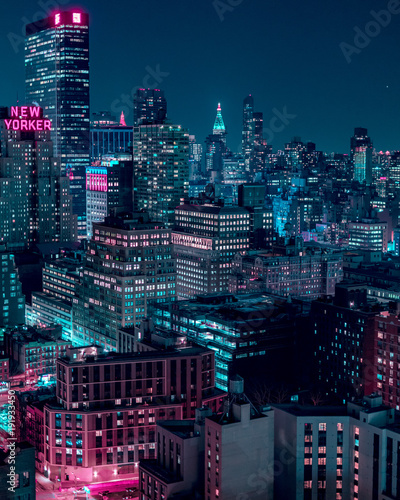 New York Minute Wallpaper Mural