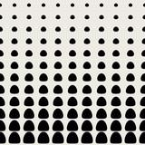 Jednolite tło wzór. Nowoczesne abstrakcyjne i klasyczne pojęcie antyczne. Stylowy motyw geometryczny kreatywny design. Wektor Kolor czarno-biały. Okrągły półtonowy kształt kropki - 191957438