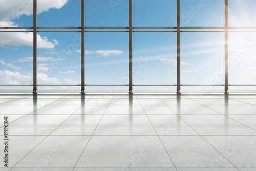 Valokuva Modern airport terminal building