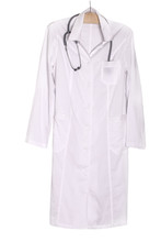 Doctor Coat With A Stethoscope.