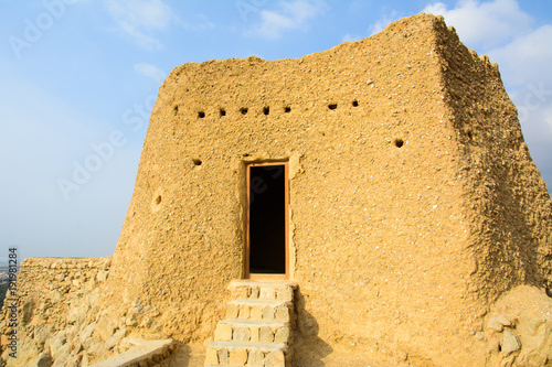 Fortification Dhayah Fort in north Ras Al Khaimah United Arab Emirates