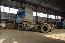 Truck In The Hangar