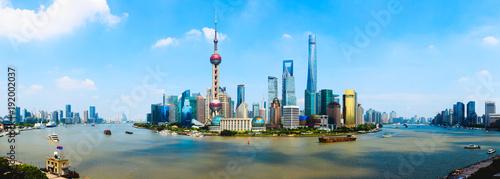 Photo Stands Shanghai Shanghai city skyline