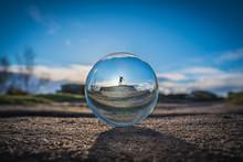 Crystal Ball At Brimham Rocks