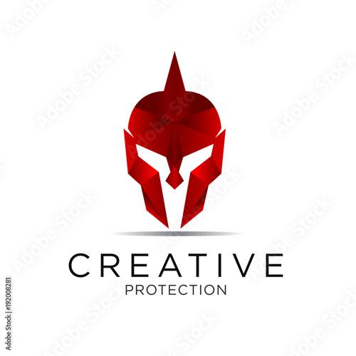 Valokuva  spartan shield logo