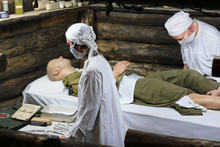 Exhibits Of Military Doctors P...