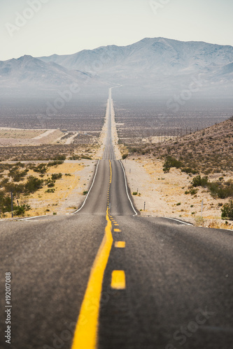 Fotobehang Route 66 Classic Highway scene in the American West, USA
