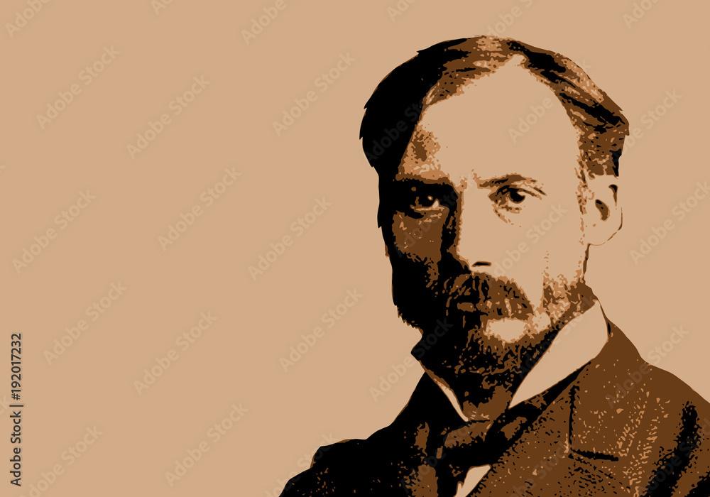 Fototapeta Renoir - peintre - portrait, personnage célèbre - Auguste Renoir - artiste peintre - célèbre - peinture