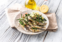 Healthy Sardines With Potato A...