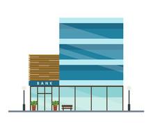 Bank Modern Building - Urban A...