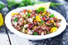 Fresh Octopus Salad