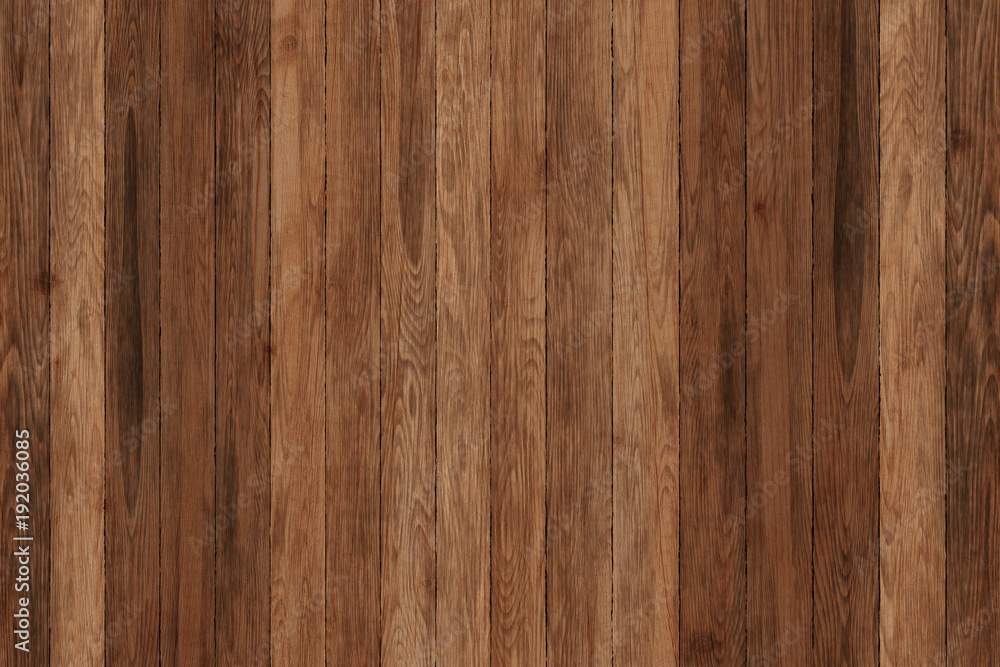 Fototapety, obrazy: Grunge wood panels. Planks Background. Old wall wooden vintage floor