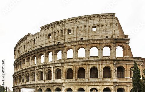 Fotografie, Obraz  Colosseum  (Coliseum) - Flavian Amphitheatre in Rome. Italy