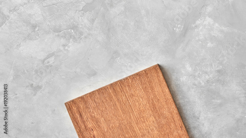 Fototapeta wood cutting board, obraz na płótnie