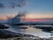 Tanah Lot sunset surf