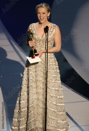 Witherspoon Gives Acceptance Speech After Winning Best Actress At The 78th Annual Academy Awards In Hollywood