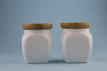 White Ceramic Jar