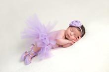 Newborn Baby Ballerina