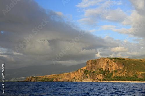 Fotobehang Kust Coast of Reunion Island