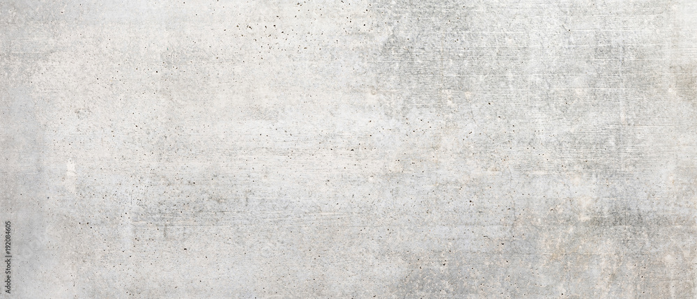 Fototapety, obrazy: Texture of old white concrete wall for background