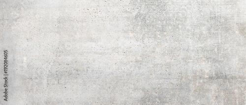 Photo sur Toile Brick wall Texture of old white concrete wall for background