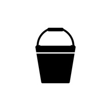 Fire-bucket Icon. Element Of F...