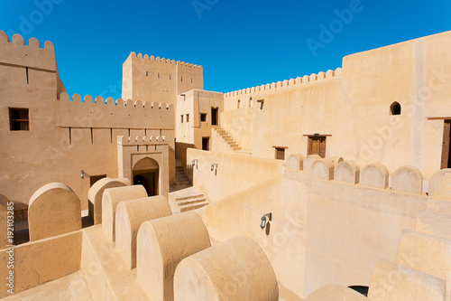 Tuinposter Vestingwerk Middle Eastern Fort in Arabian Peninsula