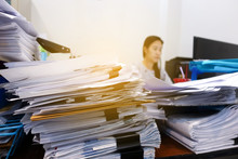 Many Documents On The Employee...