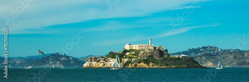 Alcatraz island Wallpaper Mural