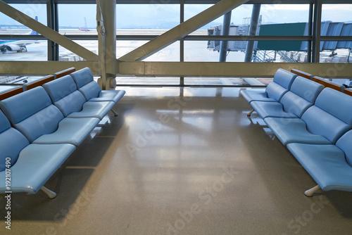 Foto op Aluminium Luchthaven waiting room