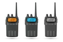 Radio Transceivers. Set Of 3d ...