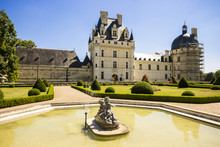 The Château De Valençay, A Residence Of The D'Estampes And Talleyrand-Périgord Families In The Commune Of Valençay, Indre Department, France
