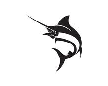 Marlin Jump Fish Logo And Symbols Icon