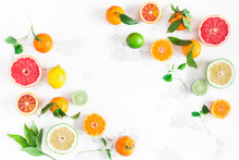 Fruit Background. Colorful Fre...