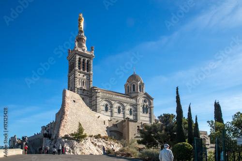 Cadres-photo bureau Con. ancienne Basilique Notre Dame de la Garde , Marseille