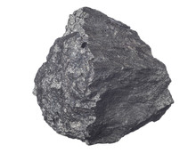 Piece Of Iron Ore Isolated On ...