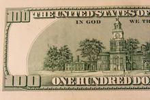 Independence Hall On Back Side...