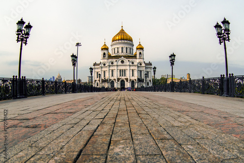 Foto op Plexiglas Kiev Cathedral of Christ the Saviour.