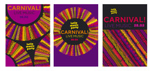 Abstract Latin  Music Carnival...