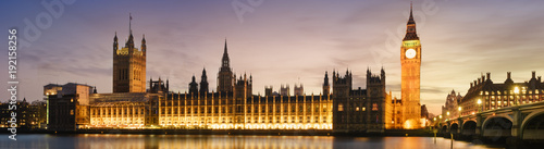 Foto op Canvas Londen Big Ben and House of Parliament