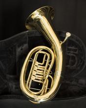 Baritone Brass Instrument With...