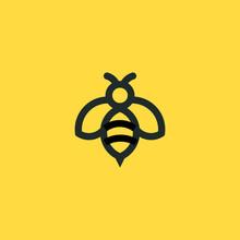 Bee Concepts Logo Vector Graph...