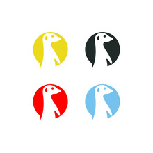 Meerkat Vector Logo Graphic Ab...